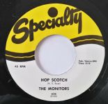 "45Re ✦THE MONITORS✦ "" Hop Scotch / Mama Linda"" Fantastic Doo Wop R&B Stroll. ♫"